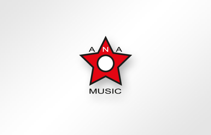 Ana Music - logo design