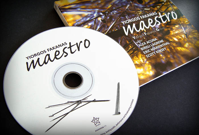 """Maestro"" CD label, cover and booklet design"