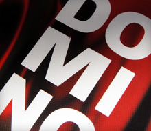 """DOMINO"" Cd Cover"