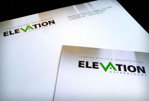 """Elevation"" envelope & stationery"