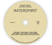 """Interspirit"" CD label, cover and booklet design"