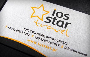 """Ios Star Travel"" businesscard"