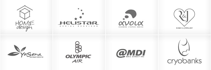 HOME DESIGN, HELISTAR Aerial Services, ANOIA, ROMEO & JEWELLERY, YASENA Boutique Weddings, OLYMPIC AIR, MDI Chicago, CRYOBANKS