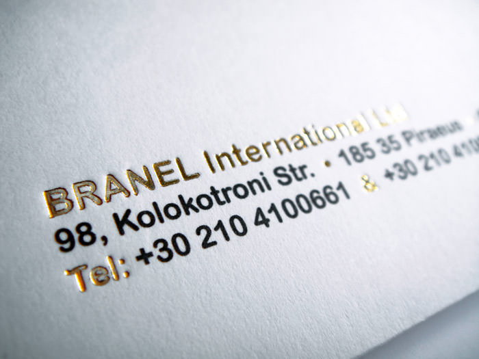 """Branel International"" mail folder - detail"