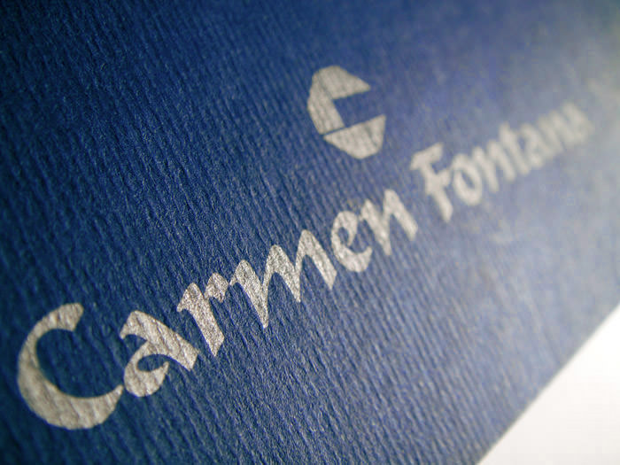 """Carmen Fontana Yacht"" - Formal brochure design"