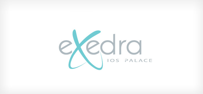Exedra Ios Palace - logo design