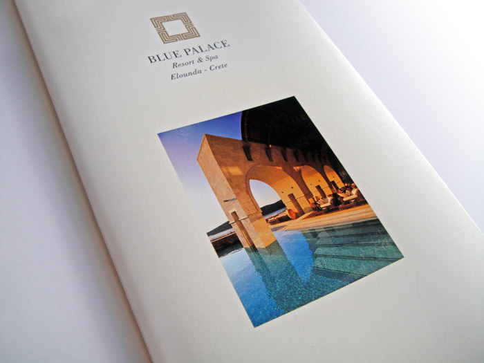 Blue Palace Resort & Spa - Small brochure - Cover