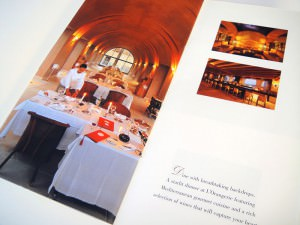 Blue Palace Resort & Spa - Small brochure design