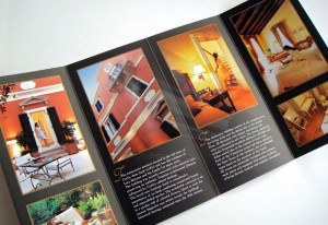 Siorra Vittoria Boutique Hotel / 8-page Flyer Brochure design