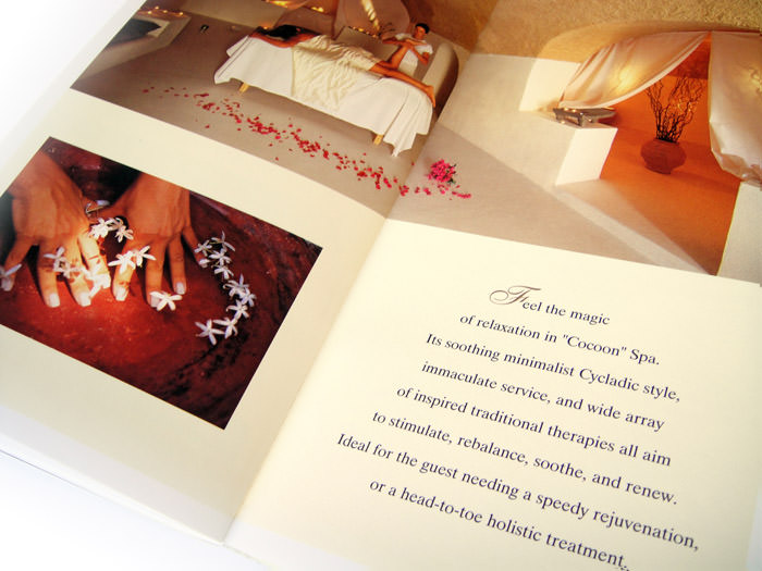 Vedema Resort - Small brochure design