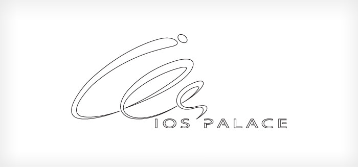 Ios Palace Hotel - logo design - final draft design