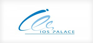 Ios Palace Hotel - logo design