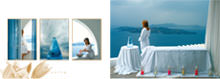 """Lilium Villas Santorini"" - formal brochure design"
