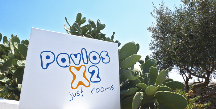 """PavlosX2"" sign-label design"