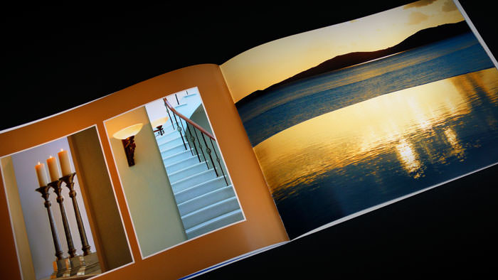 """Saint John Mykonos"" - Formal brochure design"