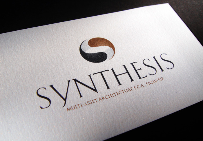 """Synthesis"" business card - front side"