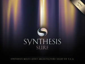 """Synthesis"" S.U.R.F. - cover for a digital brochure"
