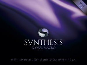 """Synthesis"" GLOBAL MACRO. - cover for a digital brochure"