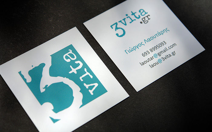 3vita business cards design and print