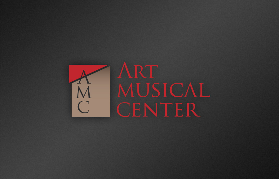 ART MUSICAL CENTER logo design