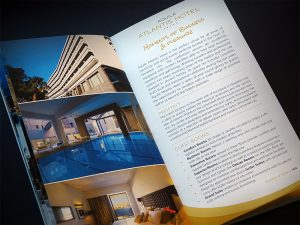 Aquila Hotels & Resorts flyer brochure