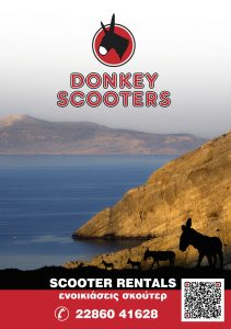 Donkey Scooters advertising