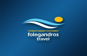 FOLEGANDROS TRAVEL logo design