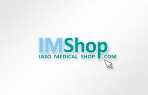 IMS IASO E-SHOP logo design