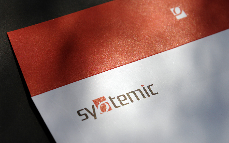 SYSTEMIC stationery design