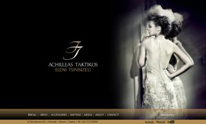 ACHILLEAS TAKTIKOS website design and construction