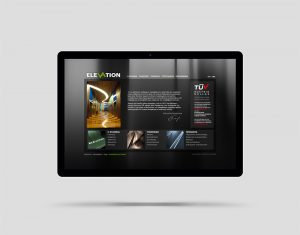 Elevation website design and construction