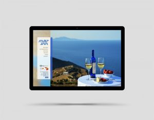 Mar Inn Hotel Folegandros website design and construction