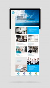 Purespace website design and construction