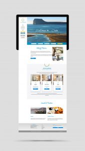 SunDance Apartments and Suites website design